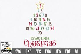 Available in png and vector. Christmas Countdown Graphic By Oldmarketdesigns Creative Fabrica