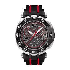 big savings on designer watches limited edition tissot t race motogp 2016 quartz chronograph men s black and red strap watch