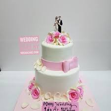 Sell 2 Tiered Wedding Cake From Indonesia By Khena Cakecheap Price