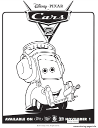 Disney is at … disney coloring pages can help kids and adults show their love for their favorite movies and characters. Cars 2 Movie Not Chuck Disney Coloring Pages Printable