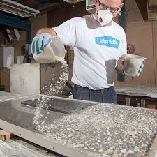 urbnrok recycled worktops recycled glass kitchen countertops uk