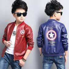 kids faux leather jacket baby boys girls and coats spring jackets casual home improvement s near kids faux leather jacket
