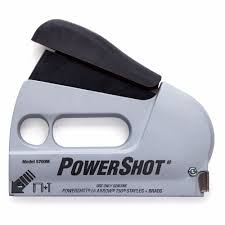 5700 powershot forward action staple gun and nailer