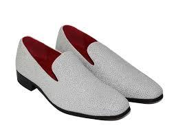 Red Designer Loafers Mens Details About New Mens Leather Line Diamond Shimmer Slip On Designer Style Loafers Black White