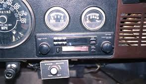 1973 1986 jeep cj5 and cj7 jeep cj 7 aftermarket radio