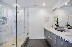 frameless glass shower remodel image above to enlarge