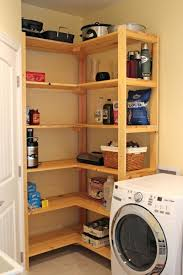 Laundry Room Shelving Ideas Small Shelf Pinterest.