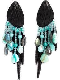 monies chandelier clip on earrings