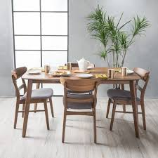 Idalia MidCentury 5piece Rectangle Dining Set by Christopher Knight Home
