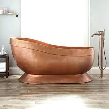 vintage bathtub for bathtubs vintage copper bathtub for hammered copper slipper pedestal tub copper vintage bathtub