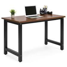 home office computer desks. Modern Home Office Computer Desk Table - Brown/Black Desks