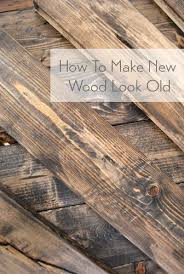 distressed wood furniture diy. Make New Wood Look Old + Distressed With These Home DIY Tips. Furniture Diy