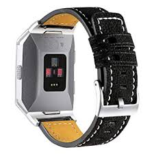 Hotodeal <b>Band</b> Compatible with Ionic <b>Genuine Leather Bands</b>