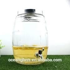 plastic beverage dispenser with spigot 3 gallon drink glass water tap spig