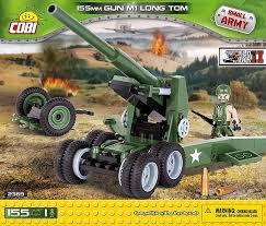 Пушка M1 Long Gun c фигуркой человека ... - Конструктор COBI