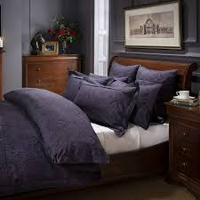 Master Bedroom Bedding Collections Dorma Paisley Navy Bed Linen Collection Dunelm House
