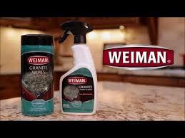 weiman granite cleaner polish