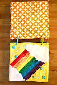 today i felt crafty rainbow quiet book 2