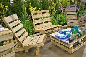 22 easy pallet outdoor furniture