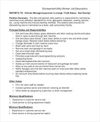 Sanitation Worker Job Description Resume Cv Cover Letter. sanitation ...