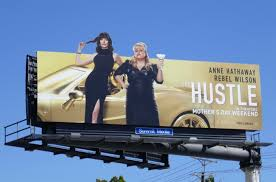 Последние твиты от the hustle (@thehustle). Daily Billboard Movie Week The Hustle Billboards Advertising For Movies Tv Fashion Drinks Technology And More
