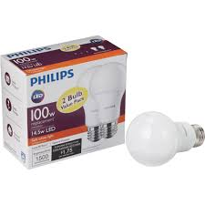 Philips Lighting Online Catalogue Philips A19 Medium Led Light Bulb 461961 1 Each For Sale