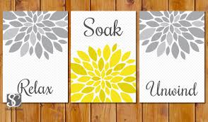 13 gray and yellow wall decor yellow and gray bathroom decor home design and decorating mcnettimages com