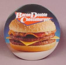 Image result for bacon double cheeseburger