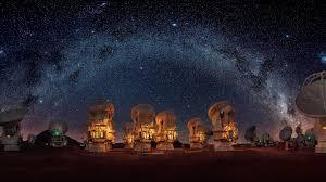Fondos de pantalla nocturnos gratis. Fondos De Pantalla Radiotelescopios Nocturnos Estrellados 1920x1080 Full Hd 2k Imagen
