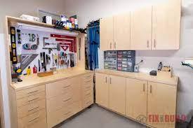 5 diy garage cabinets modular