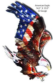 united states american bald eagle lazer cut shape metal sign 23 5 x 14 5 american made patriotic retro patriotic wall decor art rg9069s on american bald eagle metal wall art with united states american bald eagle lazer cut shape metal sign 23 5 x