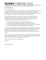Physician Cover Letter Sample Sample Cover Letters Best Doctor