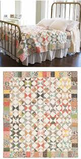 free pattern = Starring Repros star quilt at McCall's Quilting ... & free pattern = Starring Repros star quilt at McCall's Quilting. block is 1  hourglass, 4 geese, 4 HSTs, all with consistent background Adamdwight.com