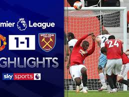 West ham united streams online. Man Utd 1 1 West Ham Match Report Highlights