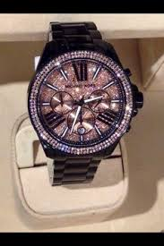 jewels bags watches michael kors and online shopping cheap michael kors · black sparkly michael kors watch