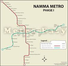 Namma Metro Bangalore Metro Map Lines Route Hours
