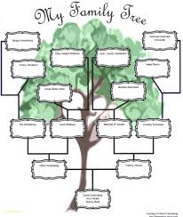 Family Tree Template Powerpoint Free Download Family Tree Templates
