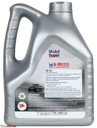 all about sel engine oils mobil super mgdo 5w40 retails