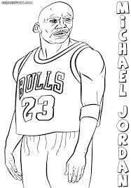 Michael Jordan Coloring Pages Coloring Pages Coloring Page Coloring