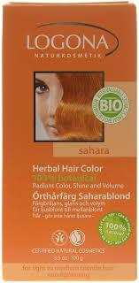 Logona Hair Dye Color Chart Logona Herbal Hair Colour Powder Sahara