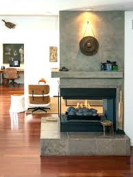 three sided gas fireplace two sided fireplace insert 2 sided fireplace room division is a breeze three sided gas fireplace
