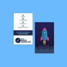 Online Busines Card Straight Corner Business Cards