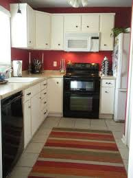 Wall Color For White Kitchen Paint Colors For Kitchen Small Space With Red Wall Color And White
