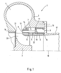 Patent ep0939198a1 exhaust gas turbocharger for an internal
