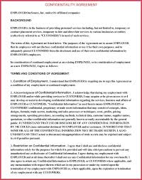 Service Agreement Template Free Download Contract Templates Word ...