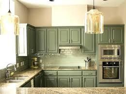 kitchen cabinets light green sage
