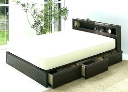 king storage bed plans. King Size Platform Bed With Storage Drawers Frame . Plans