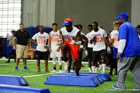 Florida Gator Lights Florida Gators Recruiting Commit Adarius Lemons At Friday