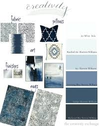 warm shades of blue layering shades of black indigo and warm gray paint colors and accessories warm shades of blue