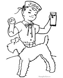 Coloring pages are fun for children of all ages and are a great educational tool that helps children develop fine motor skills, creativity and color recognition! Dog Coloring Sheets And Pages